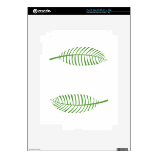 Palm Leaves Skin For iPad 2