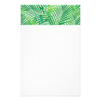 Palm leaves stationery