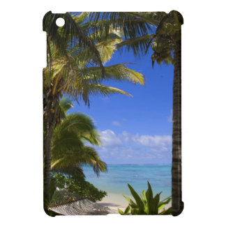 Palm lined beach Cook Islands 2 Case For The iPad Mini