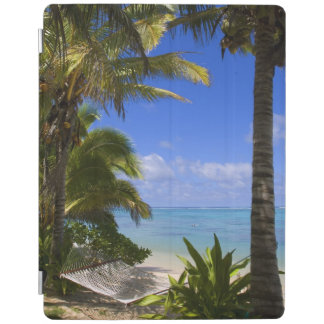 Palm lined beach Cook Islands 2 iPad Smart Cover