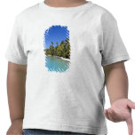 Palm lined beach Cook Islands 2 Tshirts
