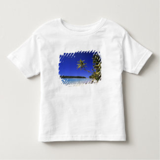 Palm lined beach Cook Islands 5 Toddler T-shirt