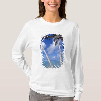 Palm lined beach Cook Islands T-Shirt