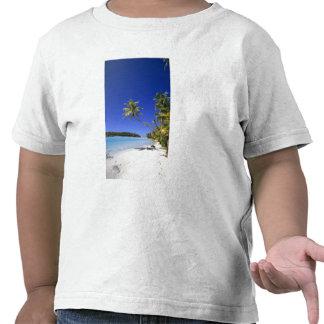 Palm lined beach Cook Islands Shirt
