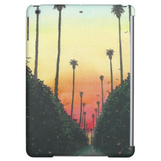 Palm Lined Street at Sundown Case For iPad Air