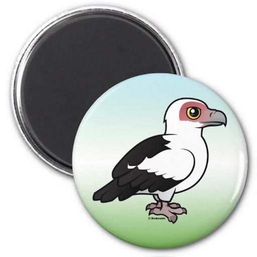 Palm-nut Vulture 2 Inch Round Magnet