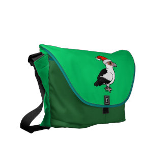 Palm-nut Vulture Santa Messenger Bag