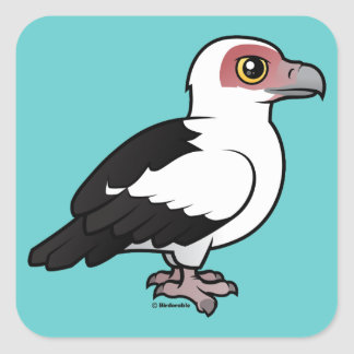 Palm-nut Vulture Square Stickers