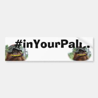 Palm Oil Wildlife Orangutan Conservation Bumper Sticker