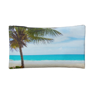 Palm on the Beach Cosmetic Bag