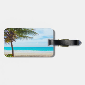 Palm on the Beach Tags For Luggage