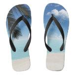 Palm on the Beach slim straps Flip Flops