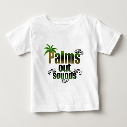 palm-out-sound-_-(white).png baby T-Shirt