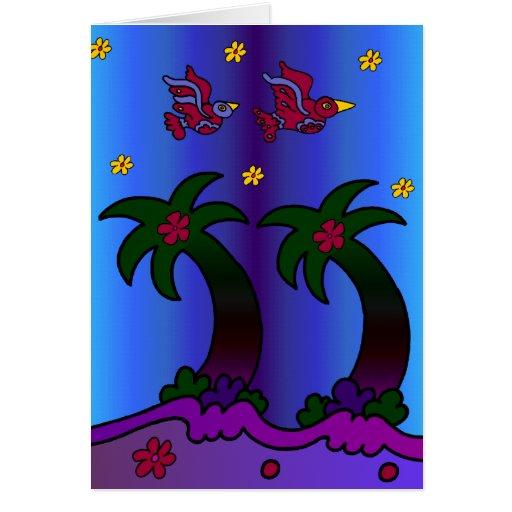 Palm Pair Card