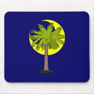 Palm palmera hoz de luna crescent tapetes de raton