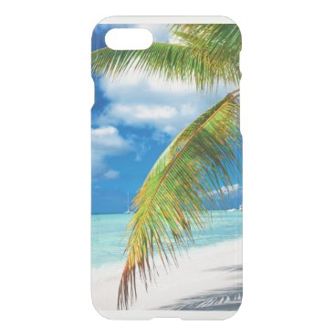 Beach Themed palm paradise iPhone 7 case