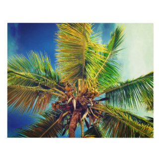 palm paradise panel wall art