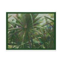 Palm Patterns Canvas Print
