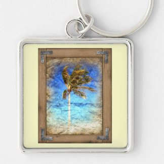 Palm Picture Framed Keychain