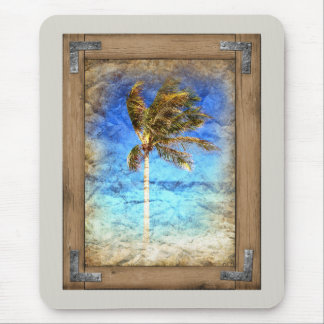 Palm Picture Framed Mouse Pad