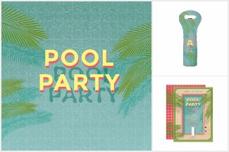 Palm Pool Party Collection
