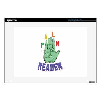 "Palm Reader 15"" Laptop Decal"