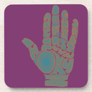 Palm Reader #1 Coasters