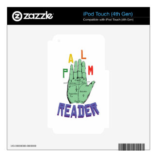 Palm Reader Decal For iPod Touch 4G