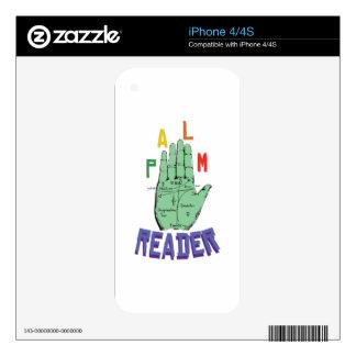 Palm Reader iPhone 4S Skin