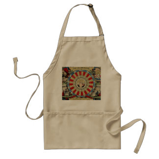 """PALM-READER, MYSTIC/FORTUNE-TELLER'S"" APRON"