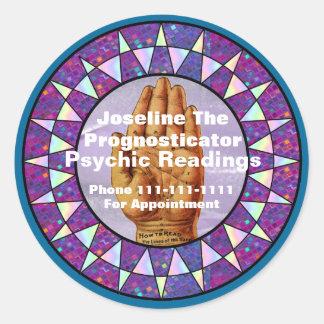 Palm Reader / Psychic Stickers-Seals Classic Round Sticker