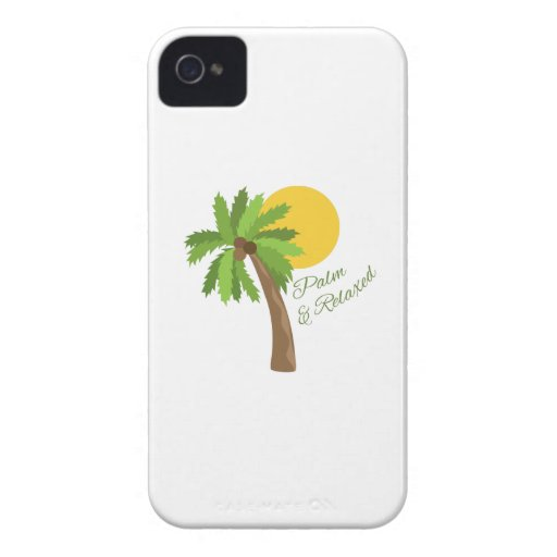 Palm & Relaxed iPhone 4 Cover