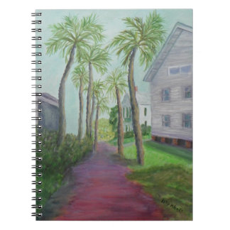 PALM ROW IN ST. AUGUSTINE, FLORIDA Notebook