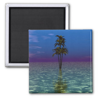 Palm Sea Magnet