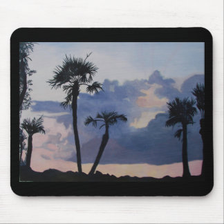 Palm Silhouettes Mousepads