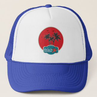 Palm Sommer Logo Trucker Hat