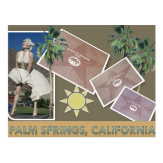 PALM SPRINGS #1 POSTCARD