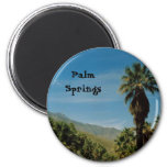 Palm Springs 2 Inch Round Magnet