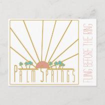 Palm Springs Bachelorette Invitation