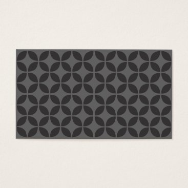 Professional Business Palm Springs Black & Gray Business Card