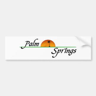Palm Springs Bumper Sticker