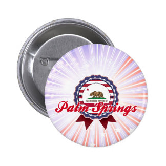 Palm Springs, CA Pinback Button