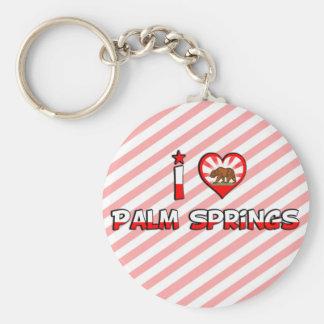 Palm Springs, CA Llaveros Personalizados