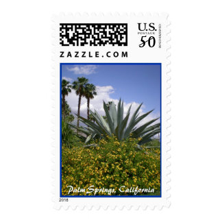 Palm Springs, California stamp