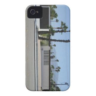 Palm Springs de la arquitectura de los mediados de iPhone 4 Case-Mate Funda