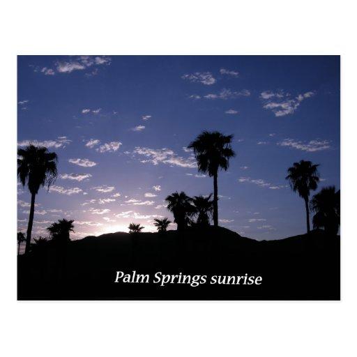 Palm Springs del ~ de la postal