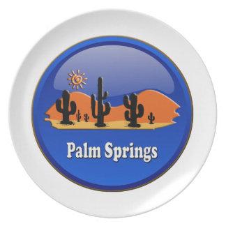 Palm Springs desert Platos De Comidas