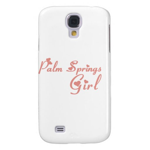 Palm Springs Girl tee shirts Galaxy S4 Cases
