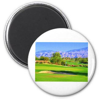 Palm Springs Golf.JPG 2 Inch Round Magnet
