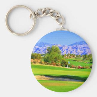 Palm Springs Golf.JPG Llavero Redondo Tipo Pin